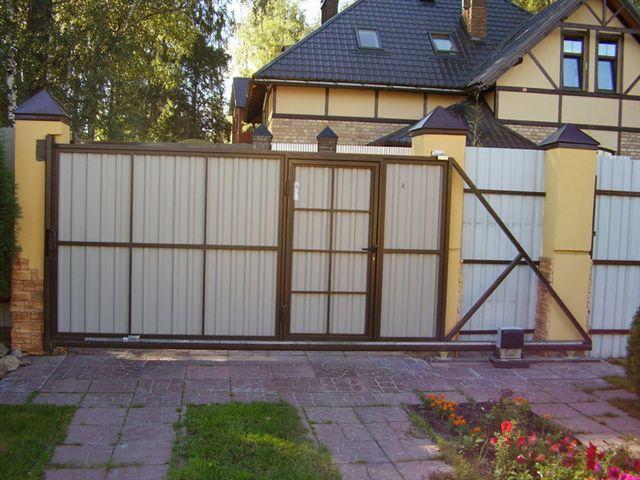 Отзывы ворота симплекс домашнее фото откатных ворот